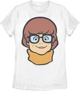 Scooby-Doo Licensed Character Juniors' Velma Large Portrait Tee