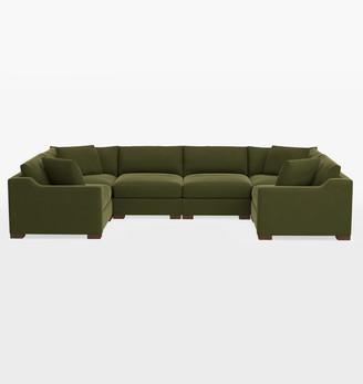 Rejuvenation Sublimity Classic 6-Piece U-Shape Sectional Sofa