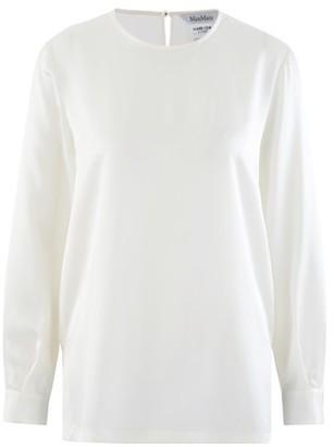 Max Mara Silk evening blouse