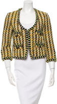 By Malene Birger Collarless Tweed Jacket