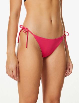 Calvin Klein Intense Power side-tie mid-rise bikini bottoms