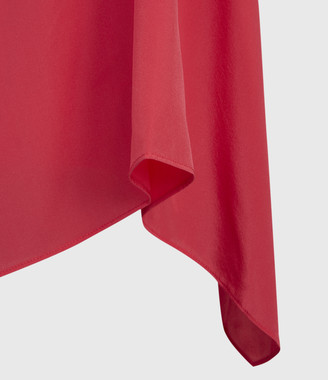 AllSaints Foy Silk Dress