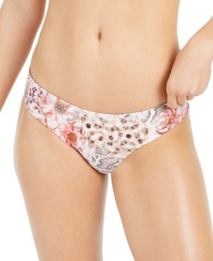 Soluna Savannah Printed Full Hipster Bikini Bottoms Women's Swimsuit