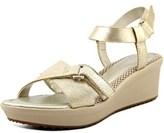 Easy Spirit Casara N/s Open Toe Leather Wedge Sandal.
