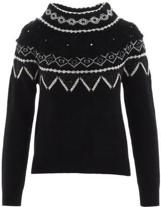 Alberta Ferretti back To Winter Sweater