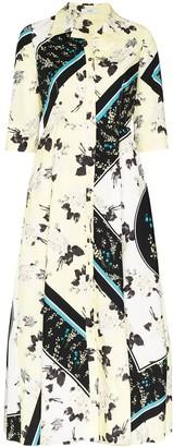 Erdem Kasia floral-print shirt dress