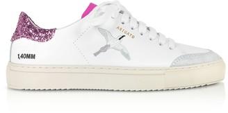Axel Arigato Clean 90 Triple Bird White, Pink Glitter & Fuchsia Leather Women's Sneakers