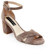 Steven By Steve Madden Voome Suede Block Sandals