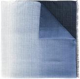 Fendi logo scarf - men - Silk/Wool - One Size