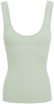 Zimmermann Zinnia Ribbed Stretch-knit Tank