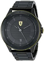 Ferrari Men's 0830141 Scuderia XX Analog Display Quartz Black Watch