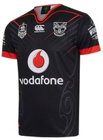 Canterbury of New Zealand Warriors 2017 Men's Replica On-Field Home Jersey