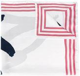 Kenzo Signature scarf - unisex - Silk - One Size