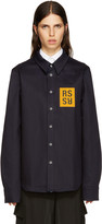 Raf Simons Navy Denim Patch Shirt