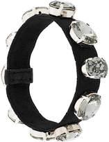 Miu Miu embellished strap bracelet