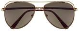 Vince Camuto Mirror-lens Aviator Sunglasses