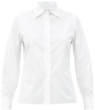 Maison Margiela Slim-fit Cotton-poplin Shirt - White