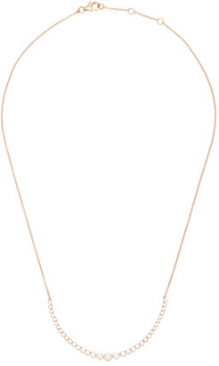 As 29 As29 AS29 18K Rose Gold Diamond Necklace