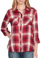 Jessica Simpson Dewi Plaid Button-Down Shirt