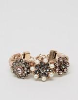 Aldo Floral Statement Cuff Bracelet