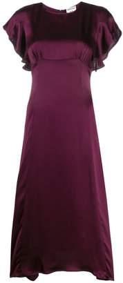 Semi-Couture Semicouture short-sleeve midi dress