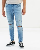 A Dropped Skinny Jeans - Turn Up