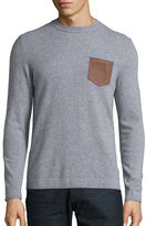 Black Brown 1826 Cashmere Pocket Sweater
