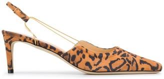 BY FAR Gabriella 65mm mid-heel pumps