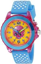 Shopkins Kids' KIN9002 Analog Display Quartz Watch