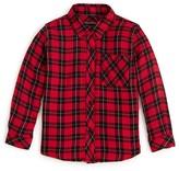 Rails Little Girls' Mini Check Button Down Shirt - Sizes 4-10