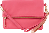 Oasis Lexi Leather Clutch Bag