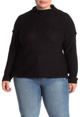 MelloDay Popcorn Knit Sweater (Plus Size)