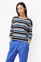 French Connection Suo Stripe Long Sleeved Top