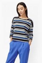 Suo Stripe Long Sleeved Top