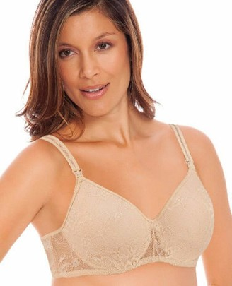 Lamaze Women's Soft Fancy Lace Underwire Nursing Bra