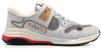 Gucci Ultrapace Glittered Sneakers