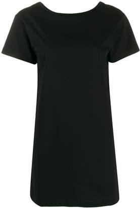 Diesel tape detail T-shirt dress