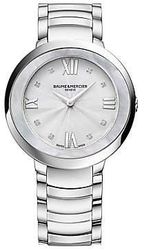 Baume & Mercier Women's Promesse Stainless Steel Bracelet Watch