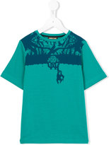 Roberto Cavalli printed T-shirt - kids - Cotton/Spandex/Elastane - 6 yrs
