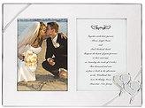 Lenox True Love Double Wedding Invitation Picture Frame