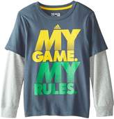 adidas Little Boys' My Game Tee