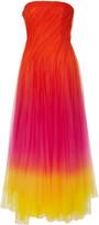 Ralph Lauren Clementine Ombre Tulle Gown