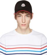 Moncler Black Logo Cap