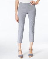 Alfani Faux Denim Capri Pants, Only at Macy's