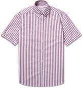 Michael Bastian - Slim-fit Striped Cotton Oxford Shirt