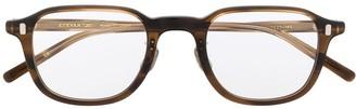 Eyevan 7285 Tortoiseshell Square Frame Glasses