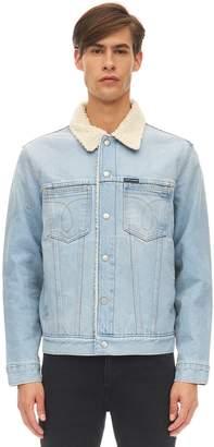 Calvin Klein Jeans Slim Sheppard Cotton Denim Jacket