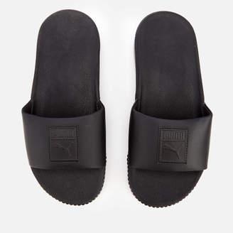 Puma Women's Platform Slide Sandals Black Black
