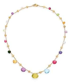 Marco Bicego Paradise Semi-Precious Multi-Stone& 18K Yellow Gold Necklace