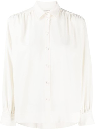 Co Back Pleated Shirt